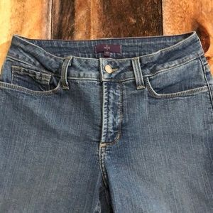 NYDJ NOT YOUR DAUGHTERS JEANS SZ 4P INSEAM 28